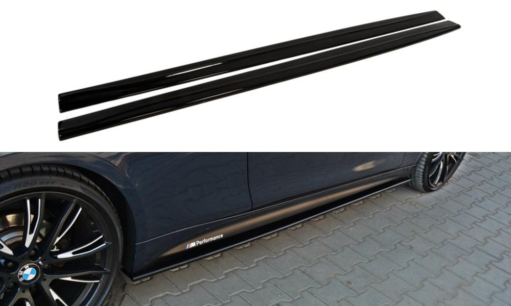 Dokładki Progów BMW 4 F32 M-Pack - GRUBYGARAGE - Sklep Tuningowy